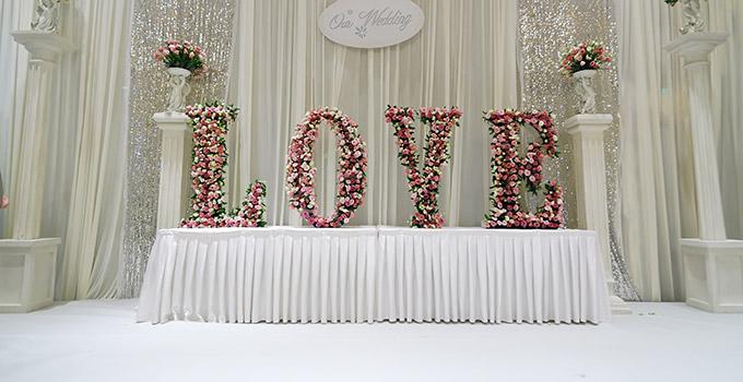 deco florale pour un mariage